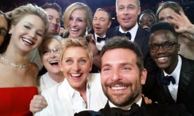 1Ellen selfie