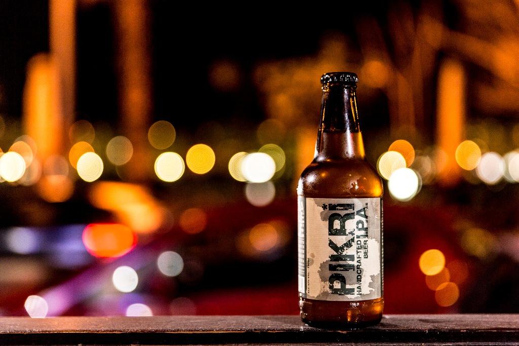 pikri beer bottle a