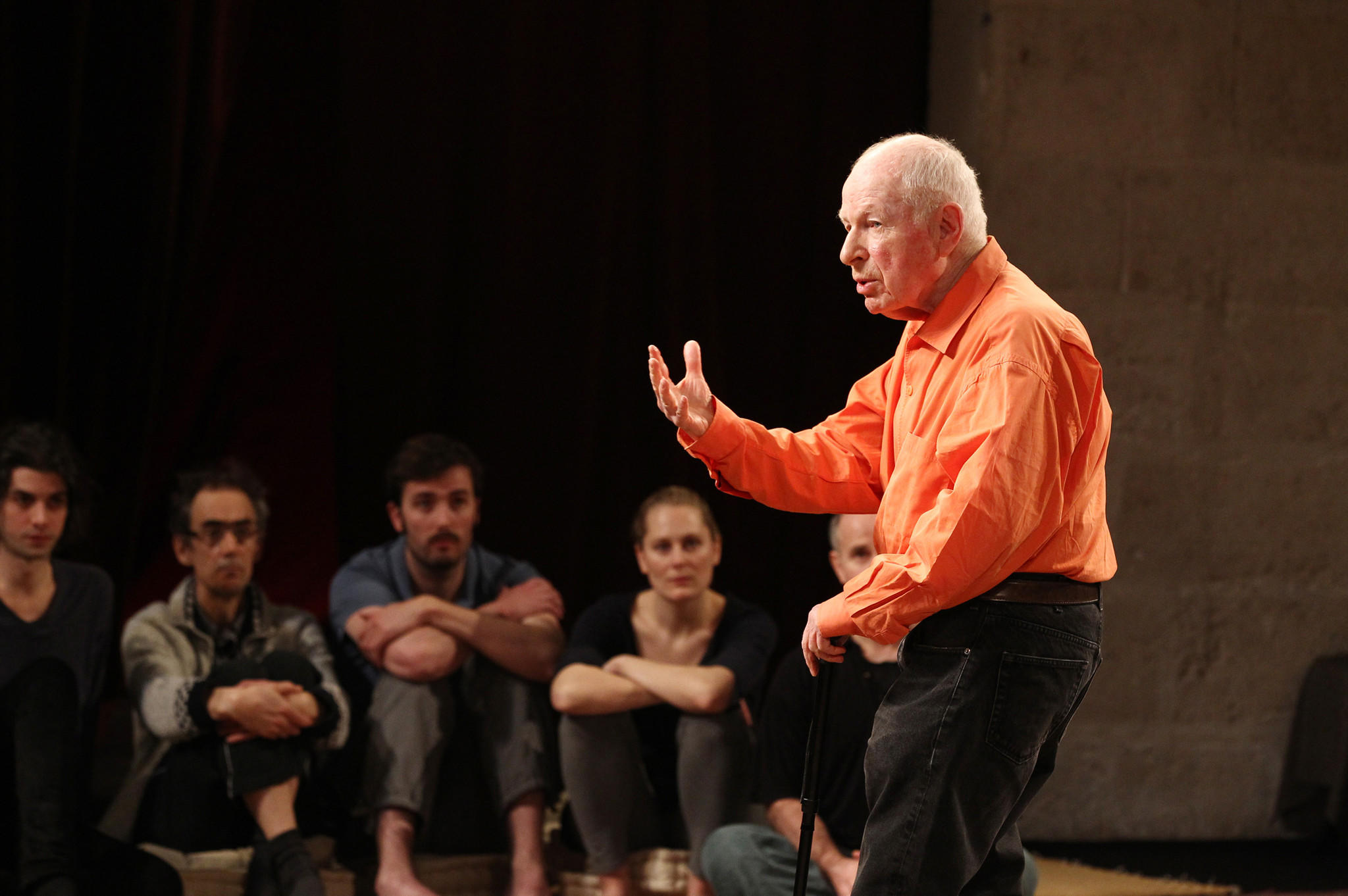 PeterBrook rehearsals