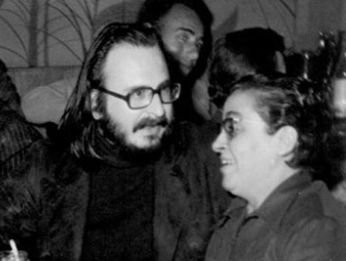 Ο Διονύσης Σαββόπουλος με την Σωτηρία Μπέλλου
