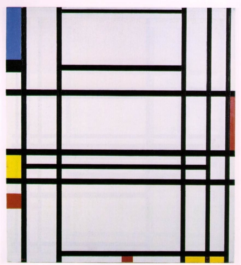 fig62 Piet Mondrian Comp10