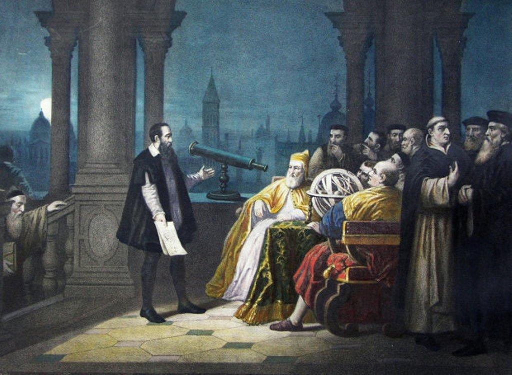 Galileo Galilei telescope Vanice