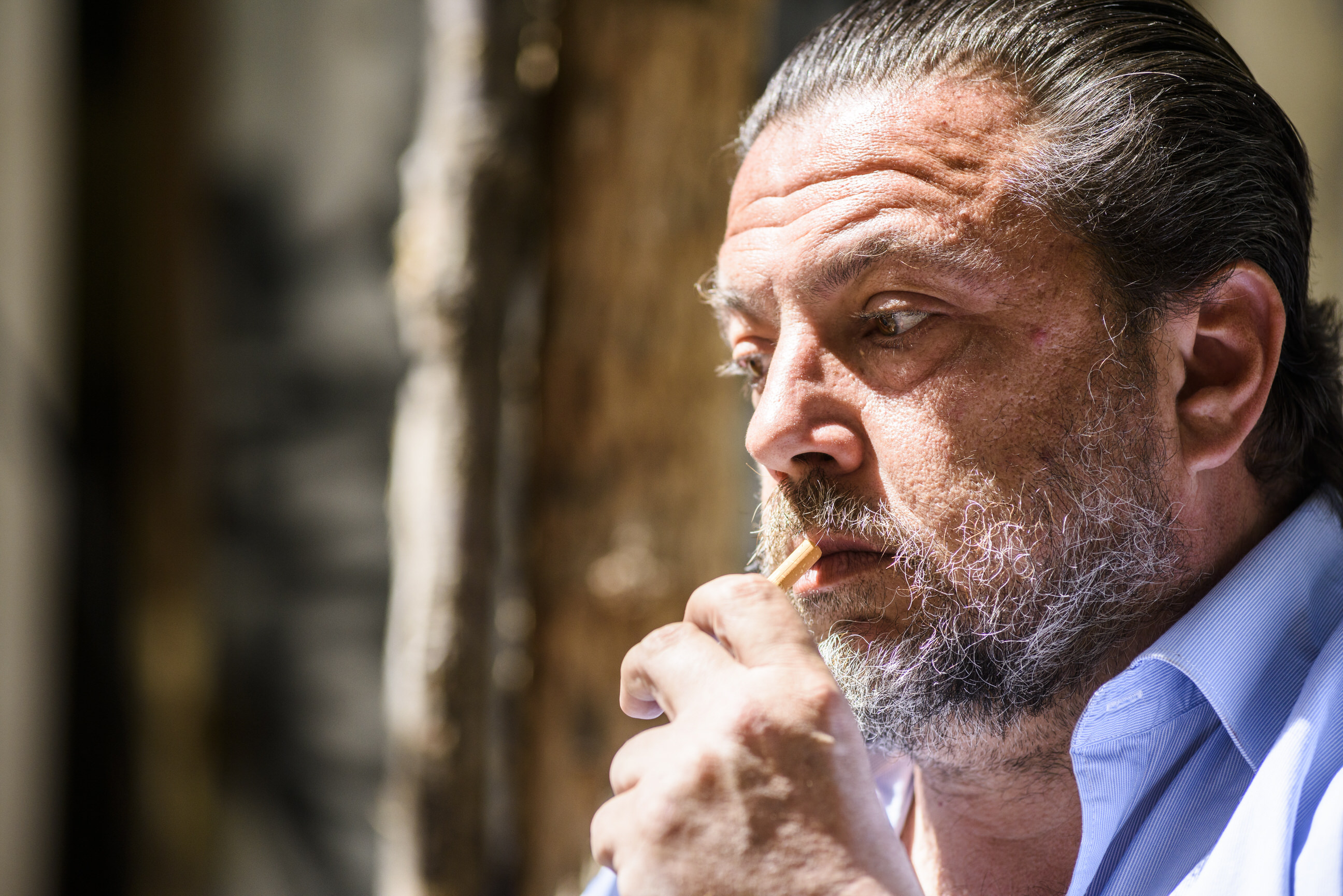 Stamoulakatos Stathis cigarette