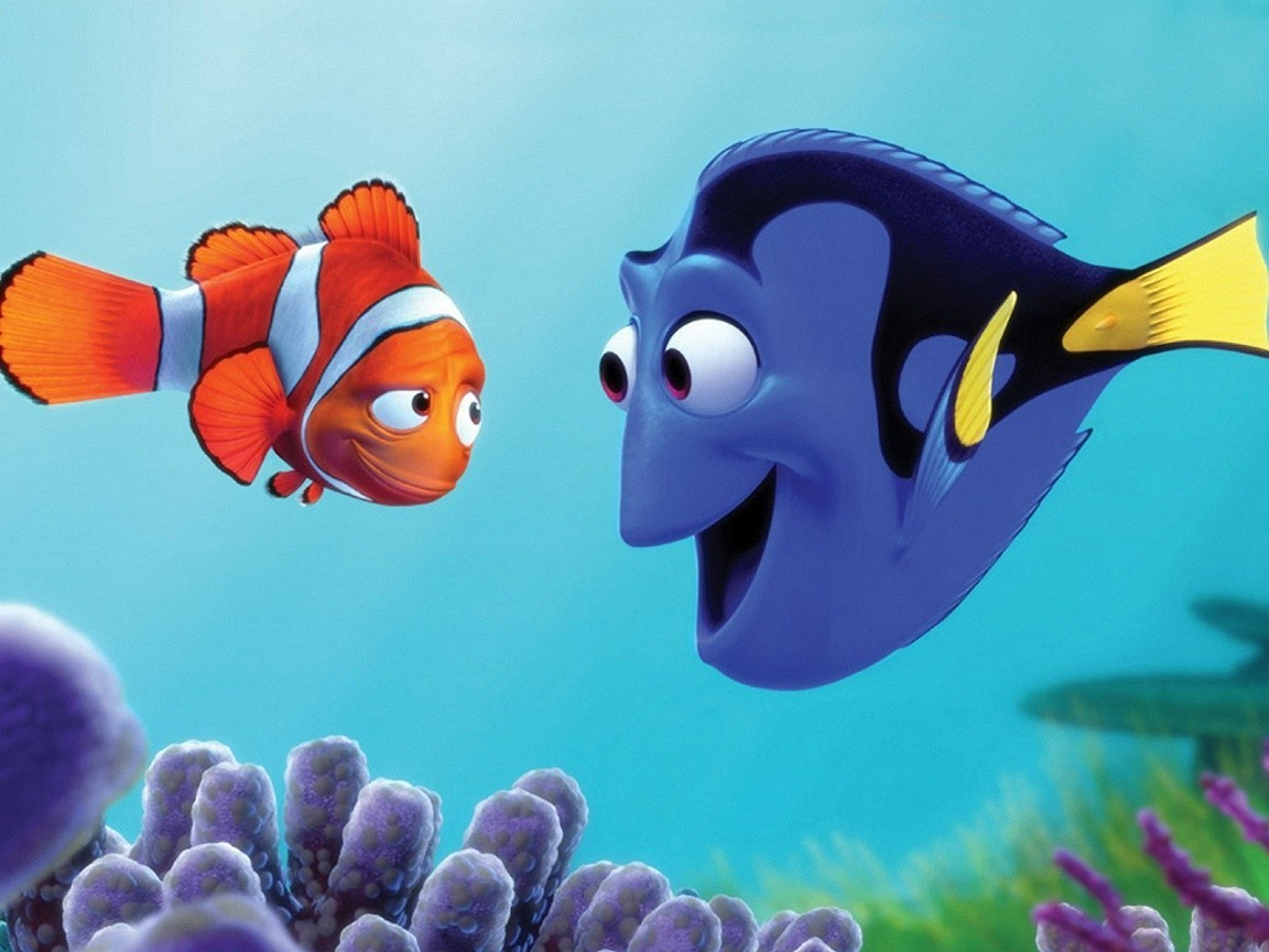 Movie finding Nemo