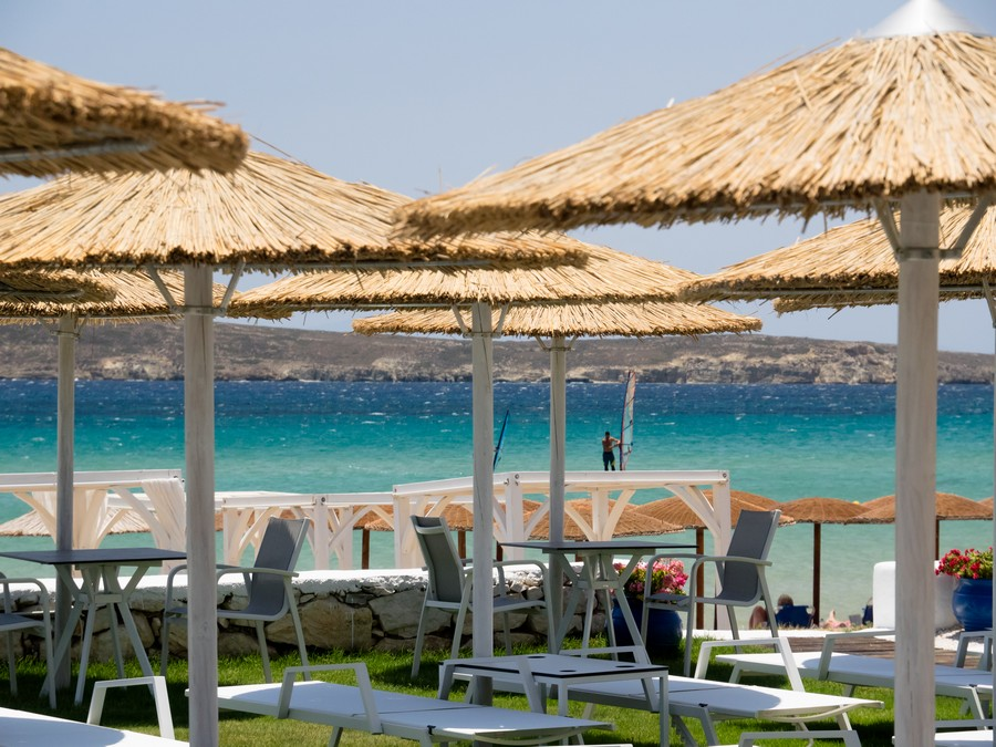 sal y mar beach golden beach paros island