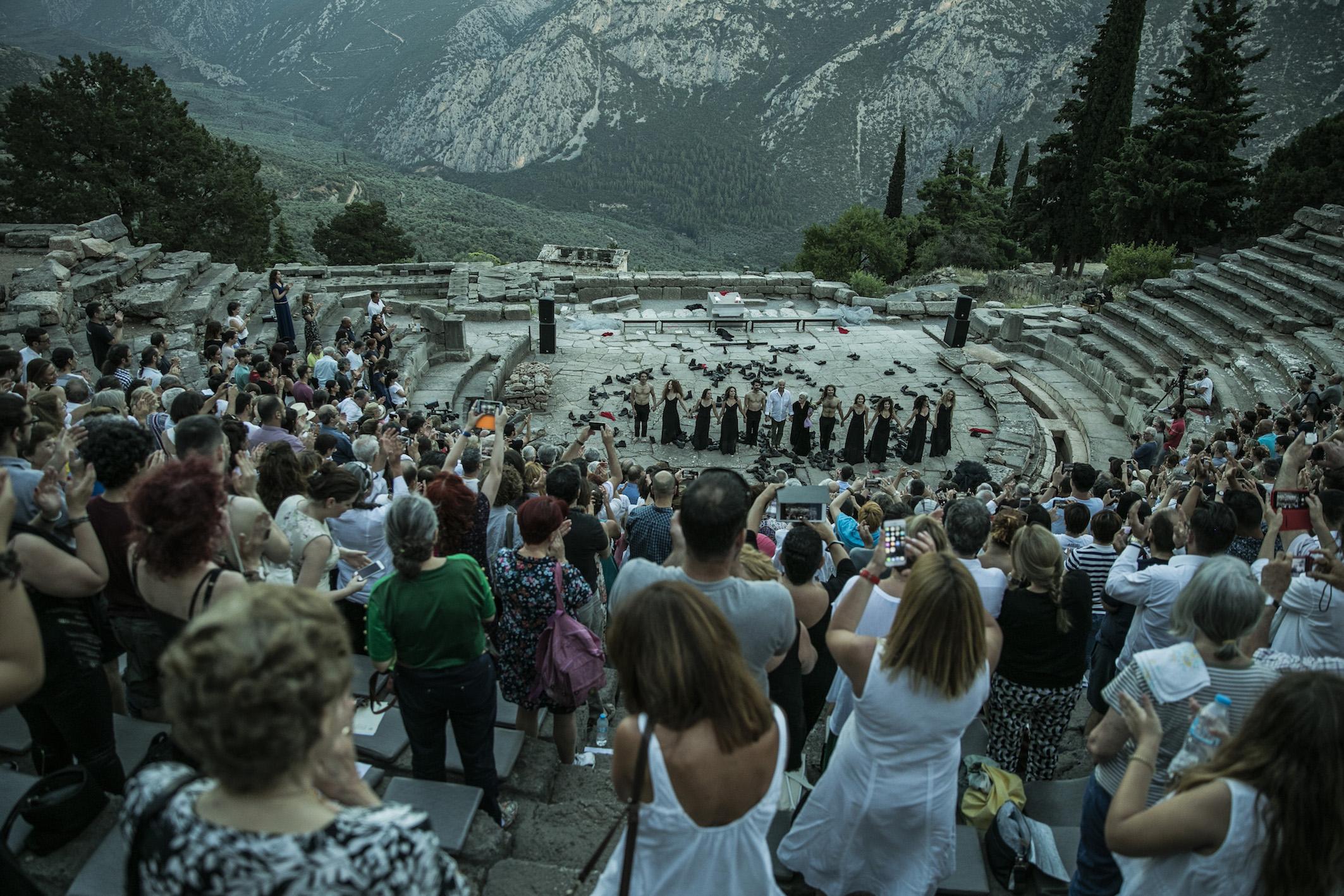 Delphi TrojanWomen audience