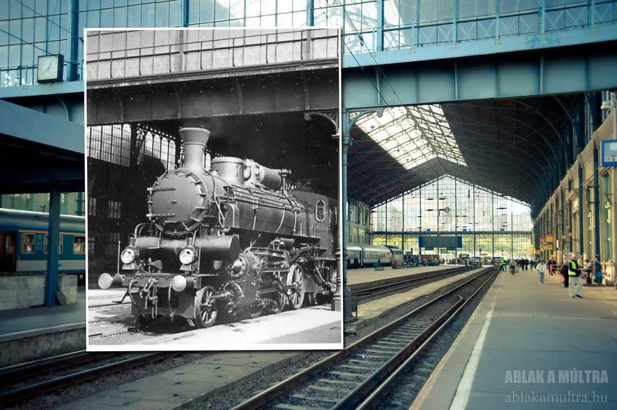 Photographer joins the present and the past in an image and the result is incredible 5b467873c8048 880