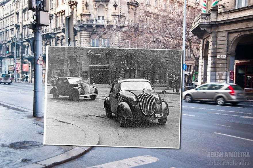 Photographer joins the present and the past in an image and the result is incredible 5b46faa854a16 880