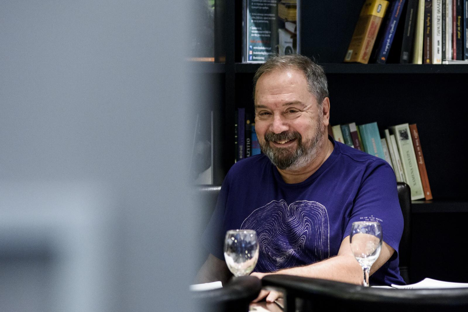 Fasoulis Stamatis library smile