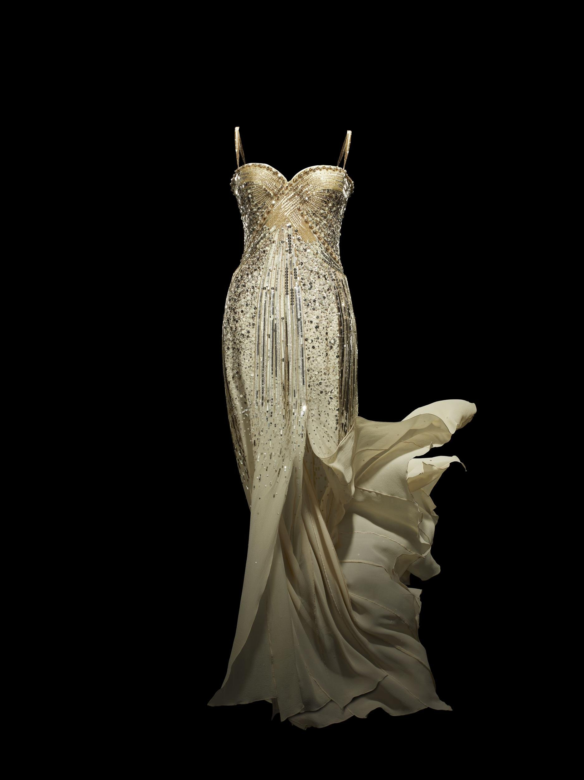 christian dior by john galliano jadore dress haute couture 2008 custom made photo c laziz hamani. christian dior parfums collection paris