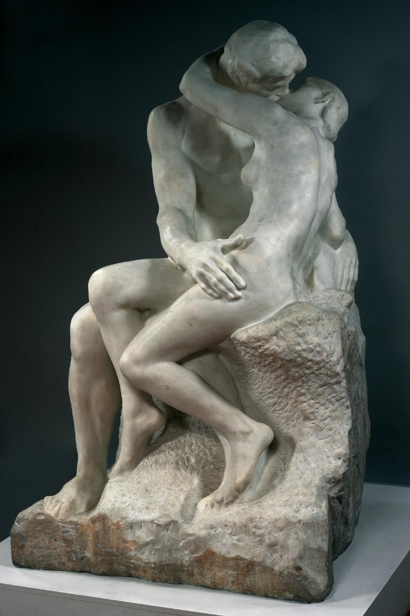 auguste rodin le baiser the kiss 1901