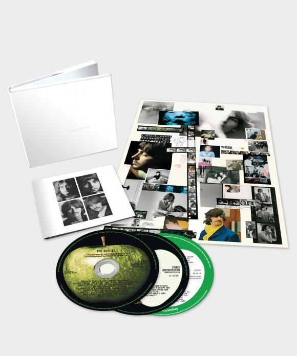 beatles 3CD package