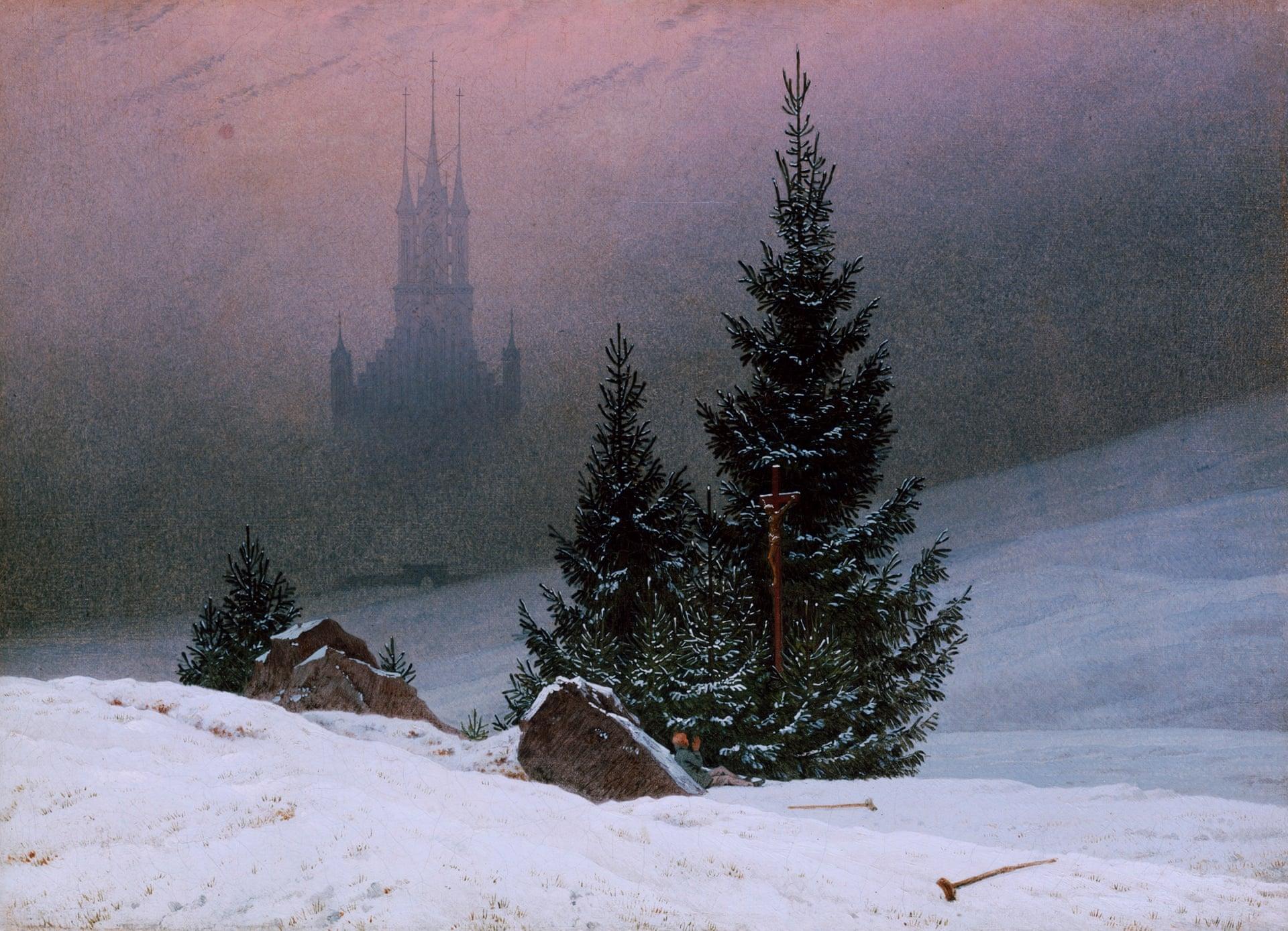 Χειμερινό τοπίο, Friedrich, 1811
