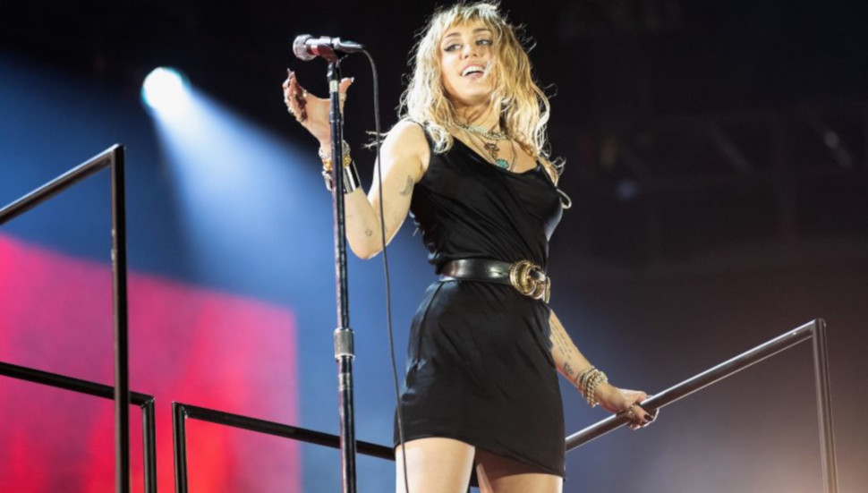 Η Miley Cyrus στο Big Weekend του BBC Radio 1