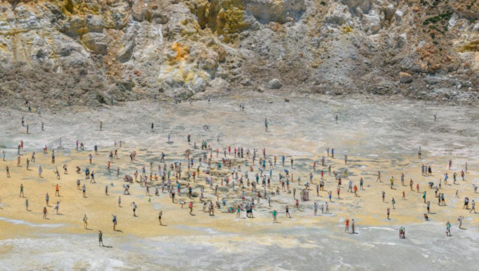 Πάνος Κοκκινιάς Nisyros, 2014, ΕκτύπωσηPhotoTextinkjet, 150 x 00 εκ