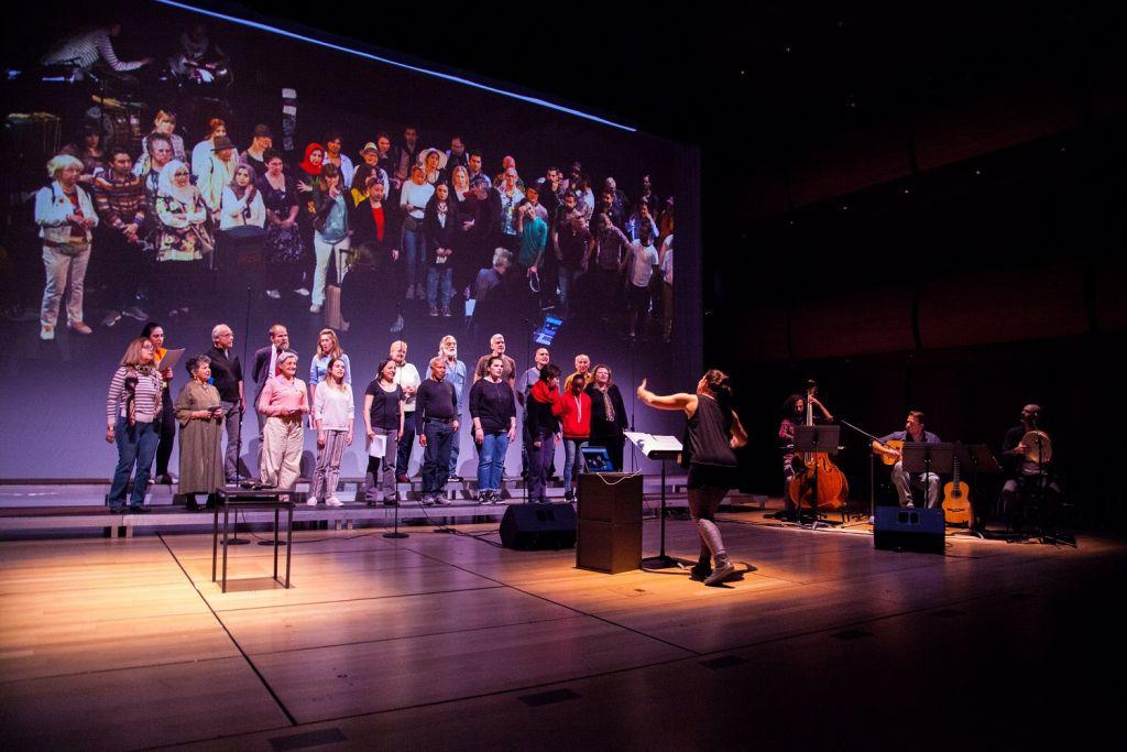 Φωτογραφία: Κυριακή Δρακότη | Διαπολιτισμική Χορωδία  Εναλλακτικής Σκηνής της ΕΛΣ.