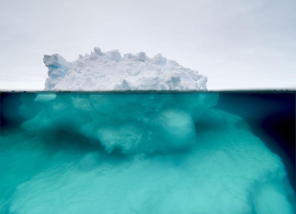 «50% Below The Ocean Arctic Line 2»