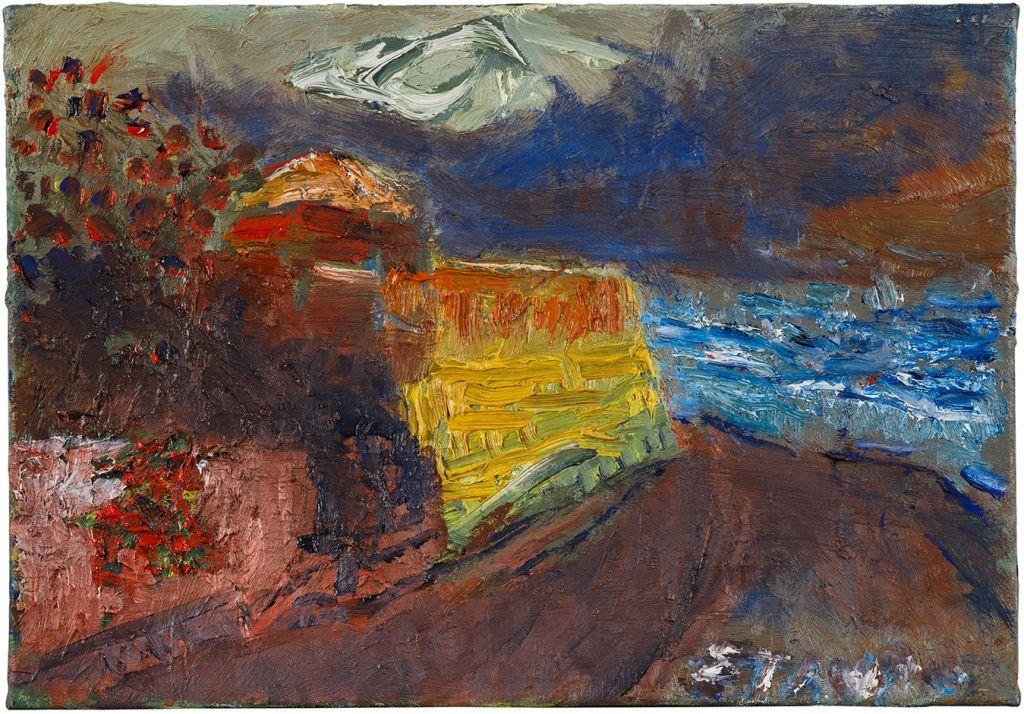 Από την έκθεση ζωγραφικής του Σταύρου Ιωάννου, με τίτλο «Δέκα Χρόνια Σιωπής», στην Evripides Art Gallery, η οποία συμμετέχει στη βραδιά «Gallery Night», την Παρασκευή 4 Οκτωβρίου.