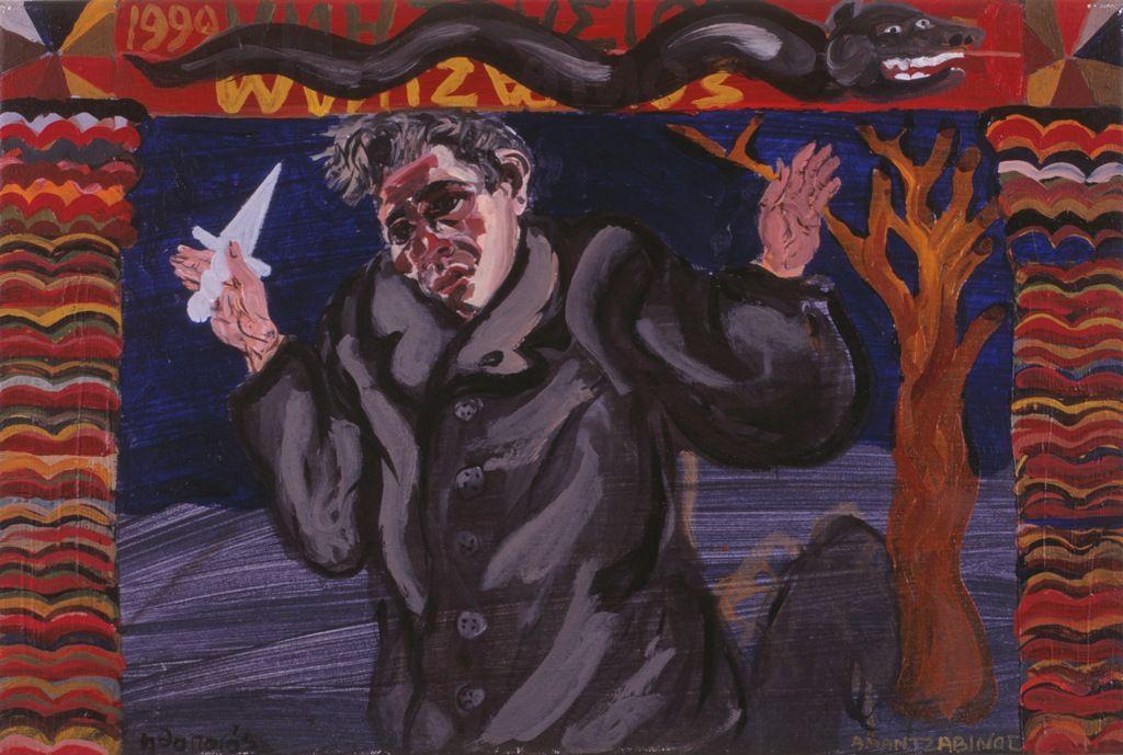 Ηθοποιός, 1999, λάδι σε καμβά, 40x60