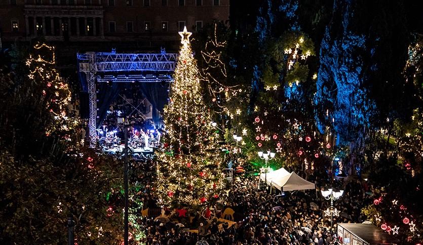 Χριστούγεννα στην Αθήνα 2019