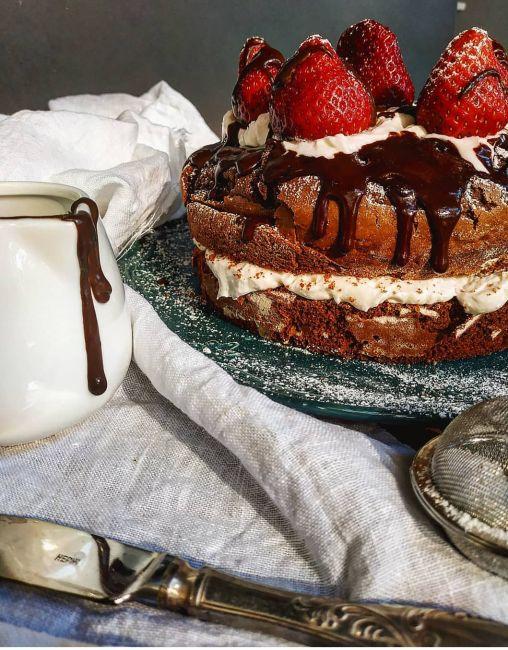 Συνταγή: Σοκολατένια τούρτα