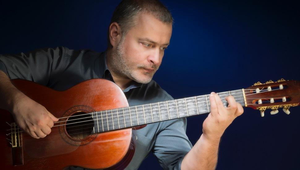Ο διεθνούς φήμης κιθαρίστας και συνθέτης Παναγιώτης Μάργαρης