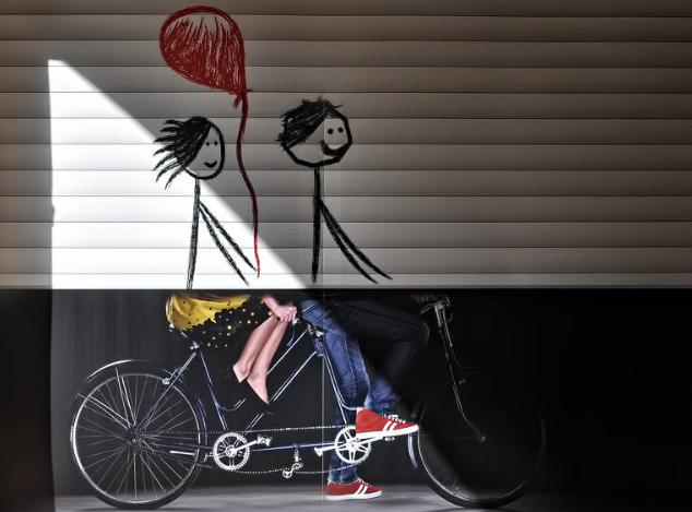 Athens love bike