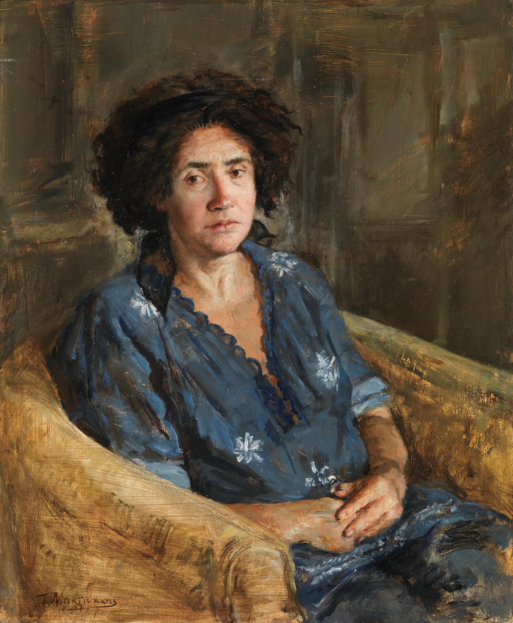 Δεκαπέντε χρόνια ζωγραφικής: Έκθεση του Τίμου Μπατινάκη στην Evripides Art Gallery