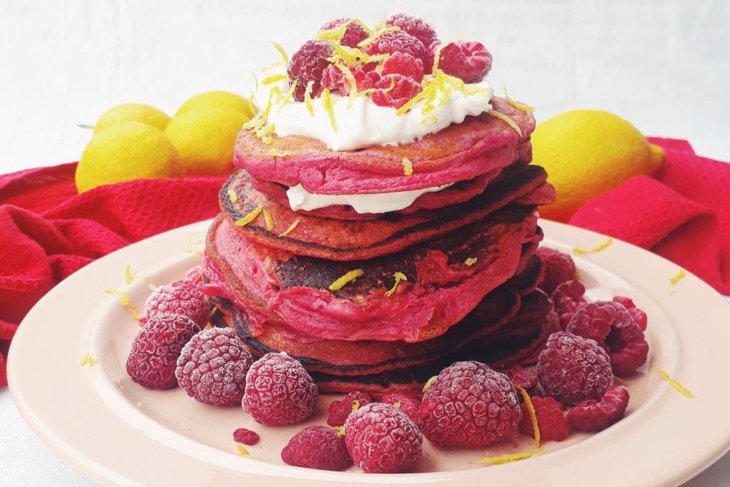 Συνταγή: Red Velvet pancakes με παντζάρι