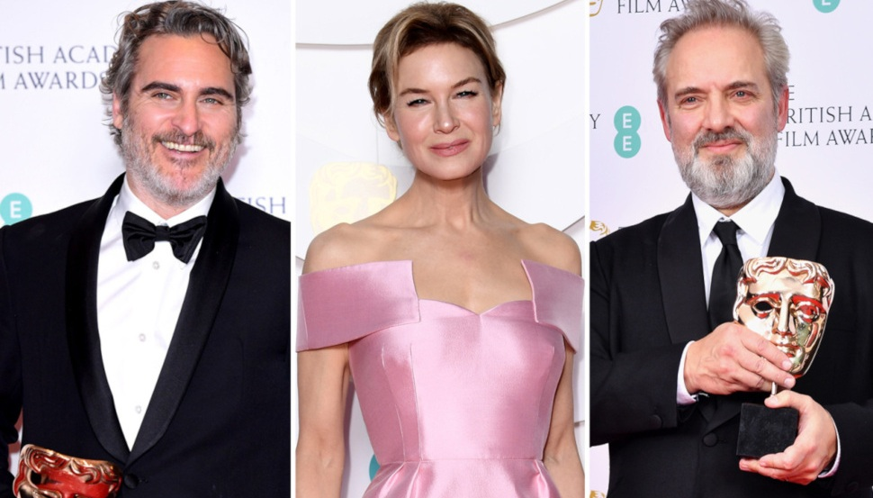 Joaquin Phoenix, Renee Zellweger, Sam Mendes: Οι μεγάλοι νικητές των βραβείων BAFTA