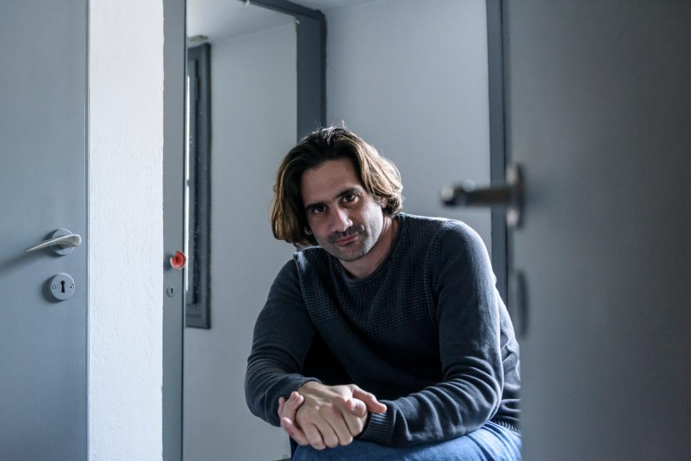 Ο Οδυσσέας Παπασπηλιόπουλος, φωτογραφία:  Ελίνα Γιουνανλή