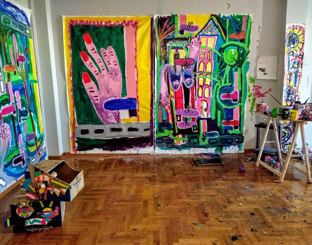 Tar Pits: Έκθεση της Μαριλίας Κολυμπίρη στην Alibi Gallery