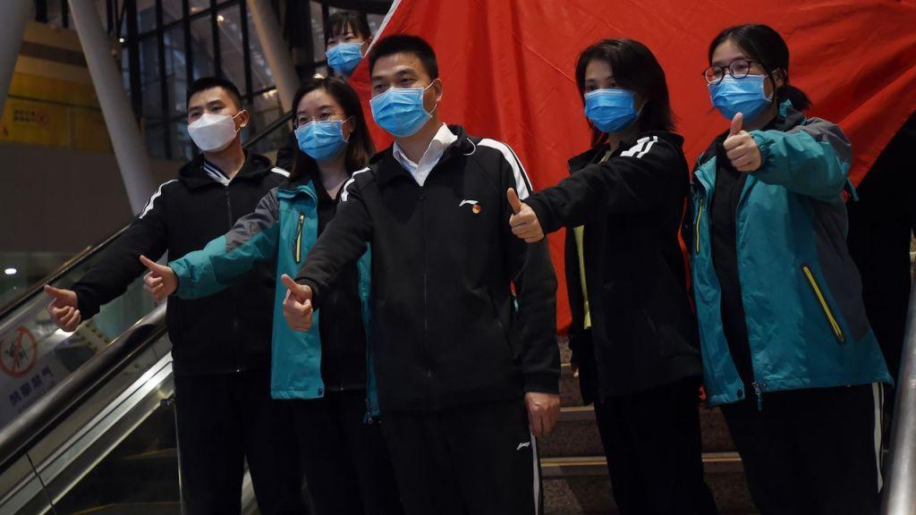 Οι Κινέζοι Γιατροί αποχωρούν από την Ουχάν