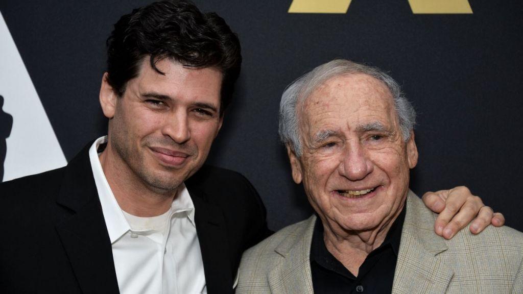 O Mel Brooks με τον γιο του, Max