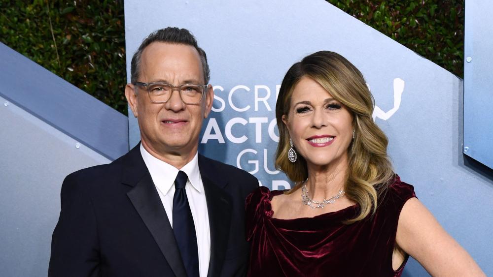O Tom Hanks και η σύζυγός του Rita Wilson