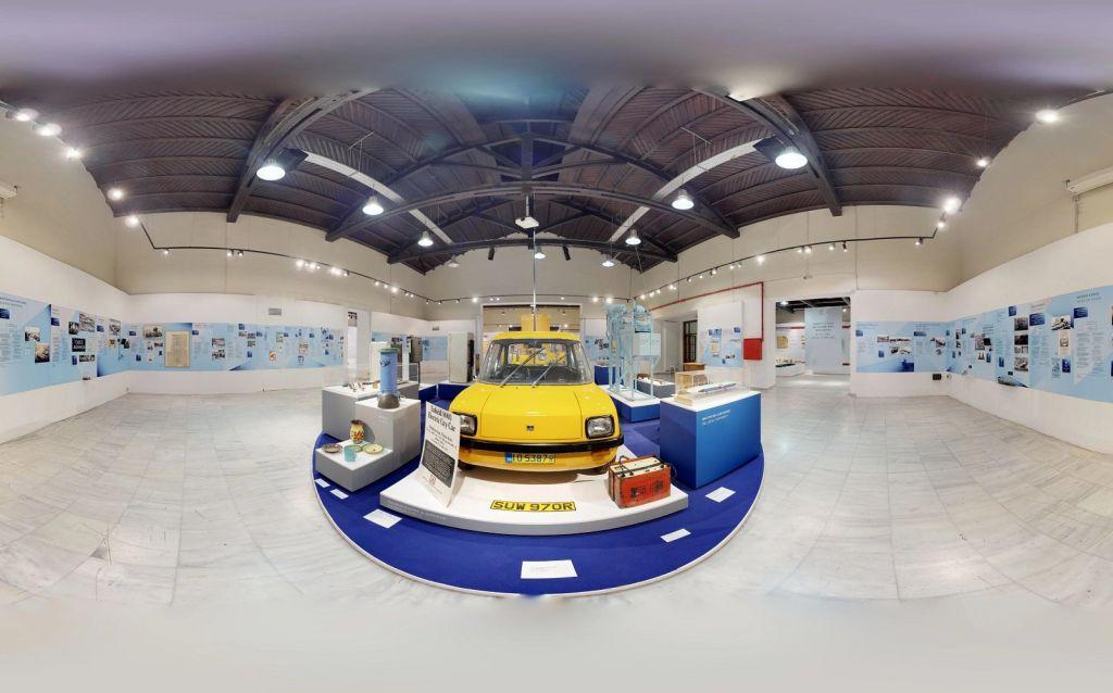VR tour της μοναδικής έκθεσης αφιερωμένης στην ελληνική βιομηχανία «160 χρόνια made in Greece».
