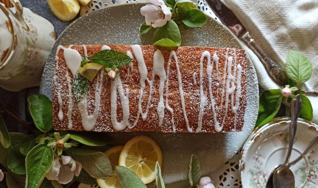 Κέικ λεμονιού με παπαρουνόσπορο