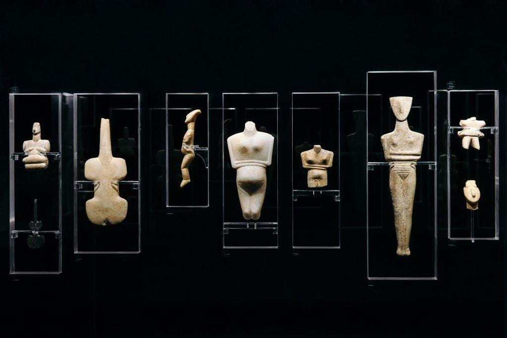 Online Έκθεση: «Κυκλαδική Κοινωνία. 5000 χρόνια πριν» | Φωτογραφία: Paris Tavitian