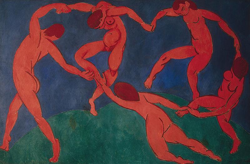 The Dance, 1910, Henri Matisse, The Hermitage, St. Petersburg