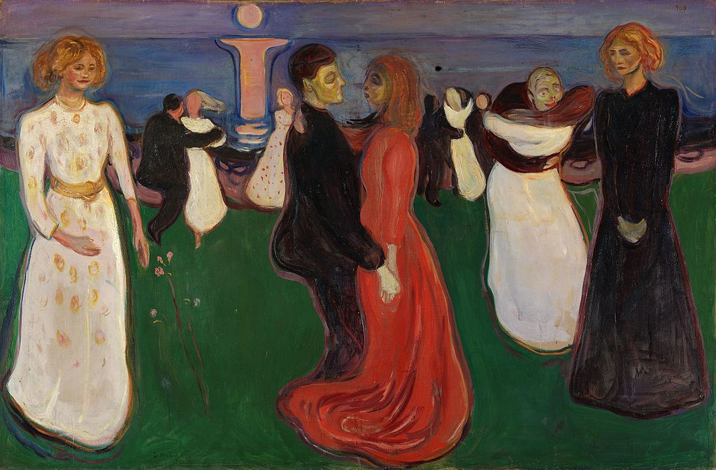 The Dance of life,1899-1900, Edvard Munch, National Museum of Art,Norway