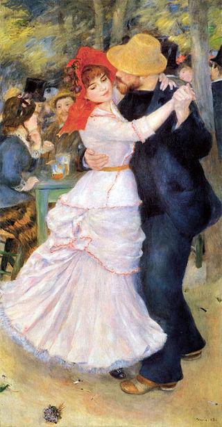Dance at Bougival, 1883, Pierre-Auguste Renoir, Museum of Fine Arts,Boston