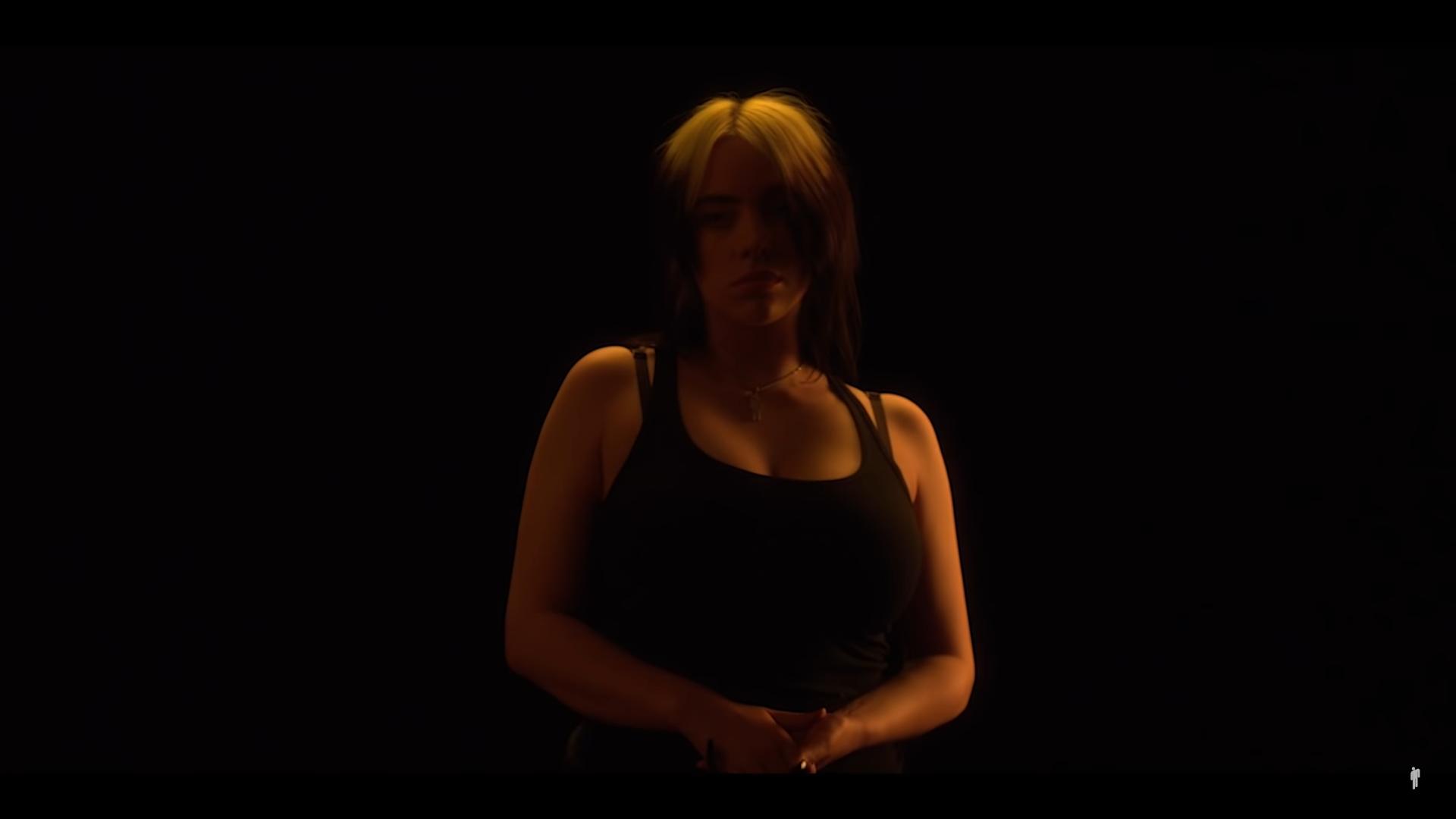 Στιγμιότυπο από την ταινία μικρού μήκους της Billie Eilish