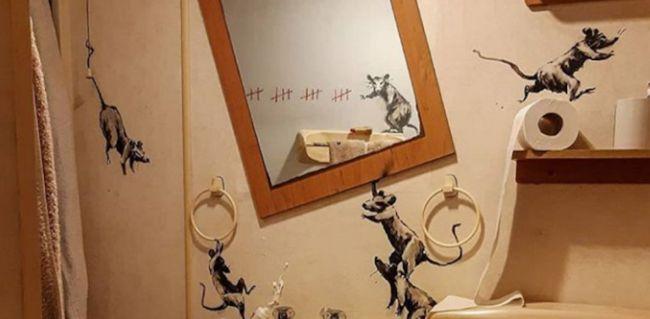 Άλλο ένα επίκαιρο έργο του Banksy