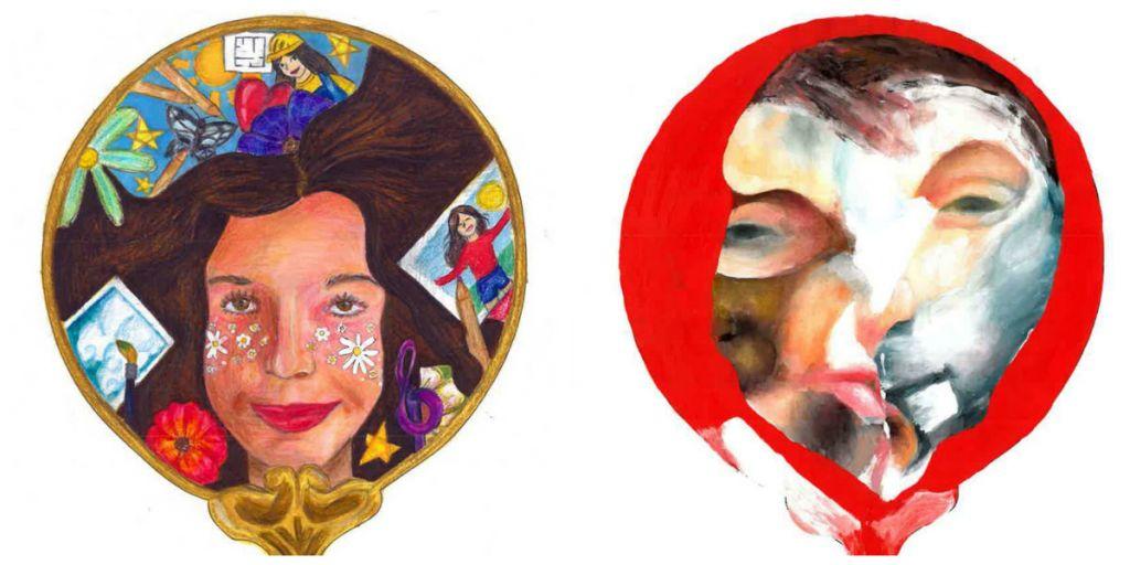Από Δεξιά: Οι νικητές της Α΄και της Γ' Γυμνασίου