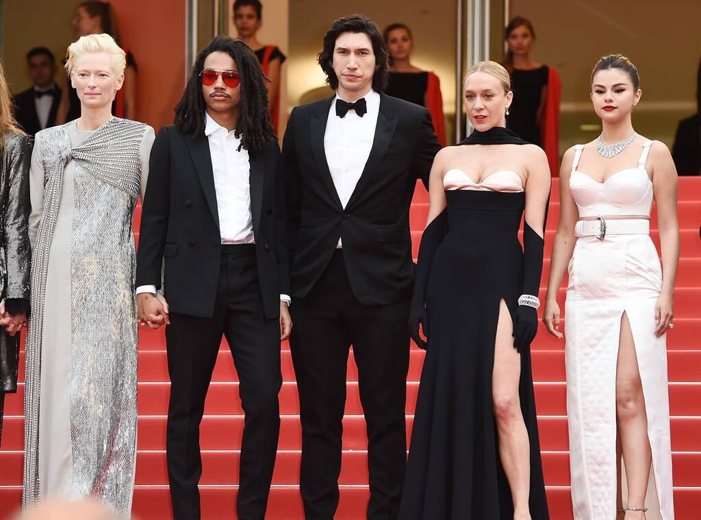 Η Κλόε Σεβινί με τους συμπρωταγωνιστές της στην ταινία Dead Don't Die στο Φεστιβάλ Καννών