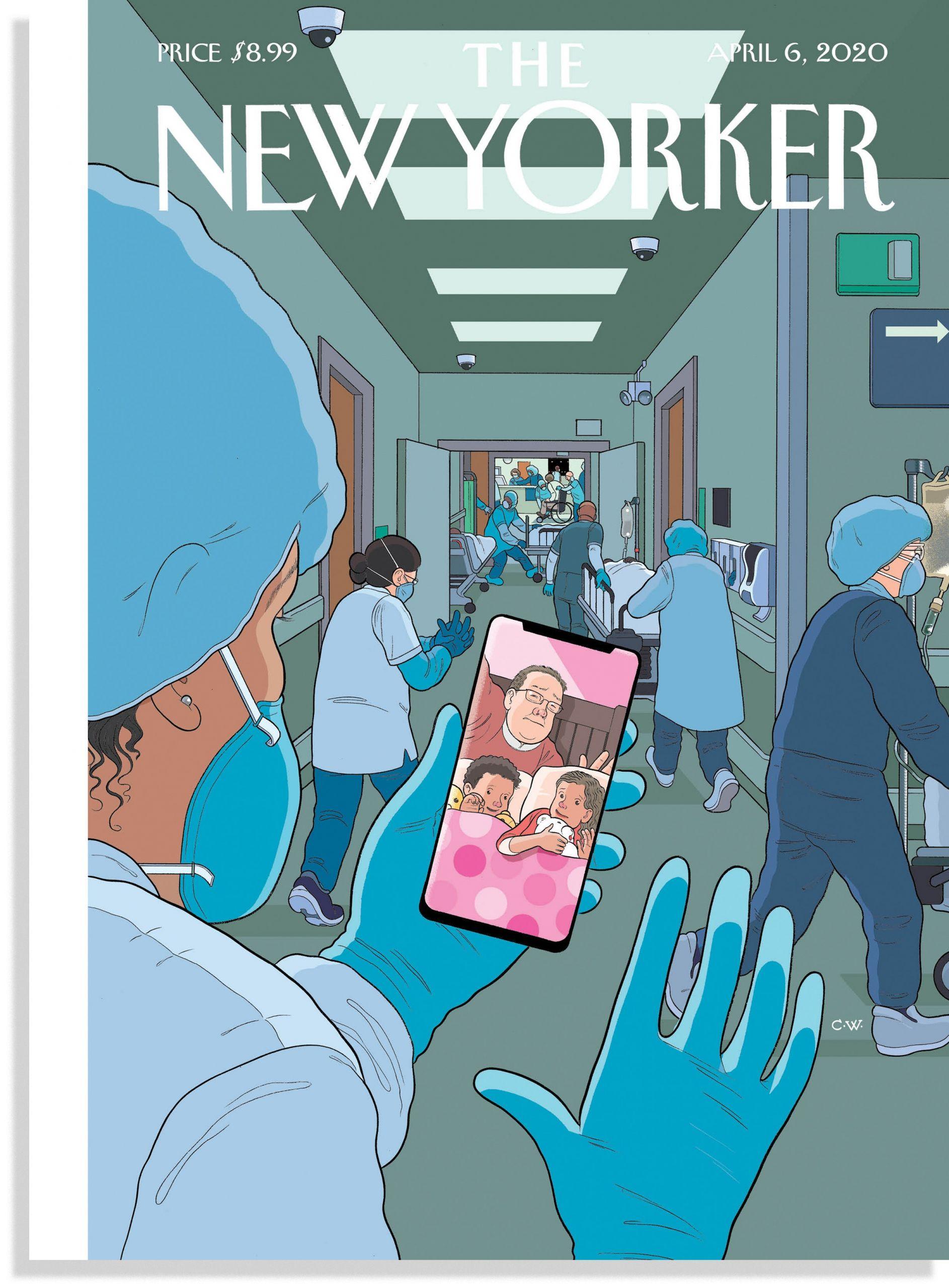 Εξώφυλλο της New Yorker: Bedtime, Chris Ware