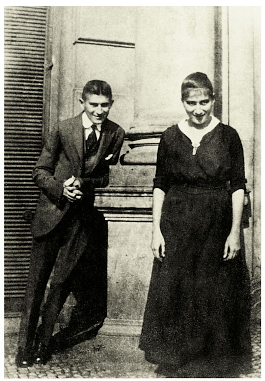 Ο Φραντς Κάφκα με την αγαπημένη του αδερφή