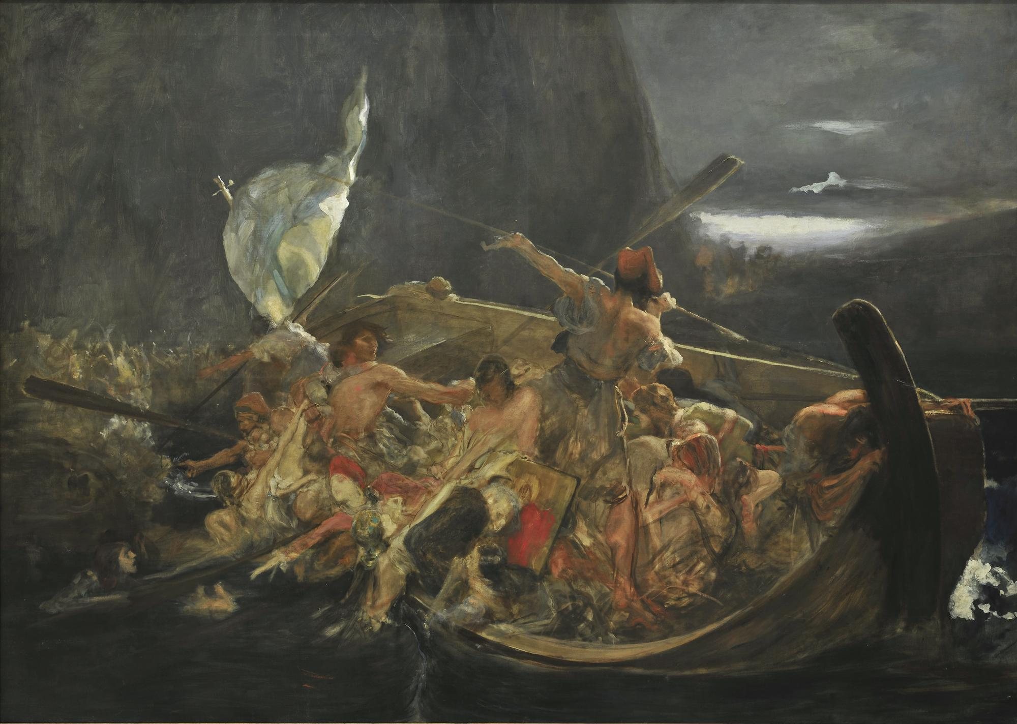 Ν. Γύζης, Μετά την καταστροφή των Ψαρών, π. 1896-1898, Εθνική Πινακοθήκη