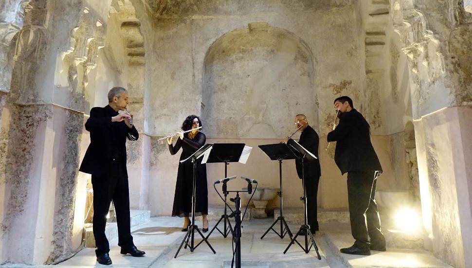 Η Κρατική Ορχήστρα Θεσσαλονίκης στο Μπέη Χαμάμ, φωτογραφία: Σίσσυ Βασιλειάδου