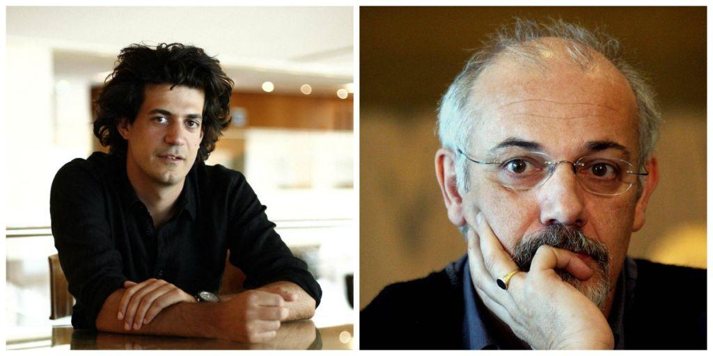 Από αριστερά: Κωνσταντίνος Δασκαλάκης, Γιώργος Κιμούλης